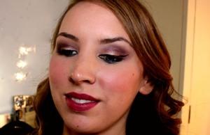 autum inspired makeup