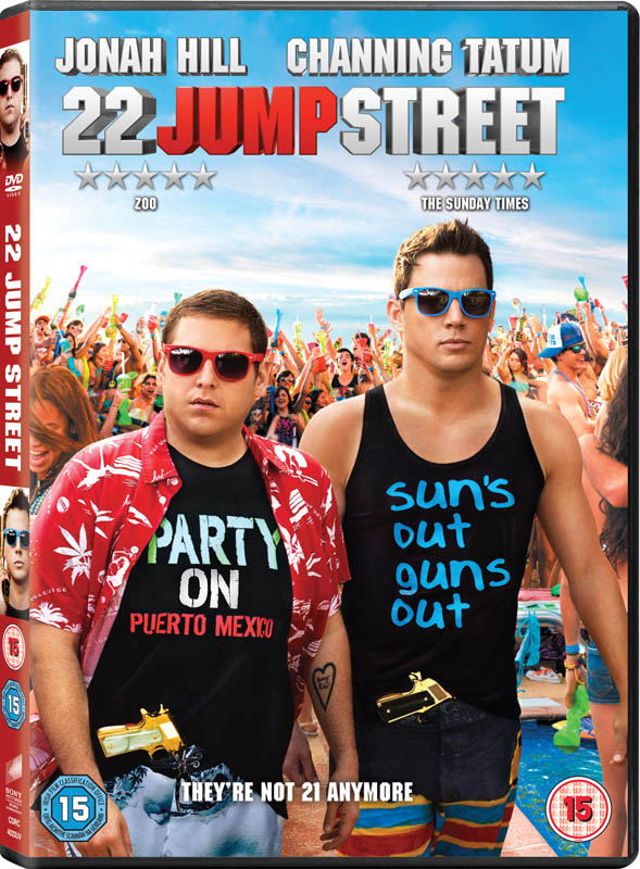 22 JUMP STREET dvd case