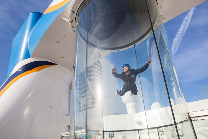 ifly on quantum of the seas