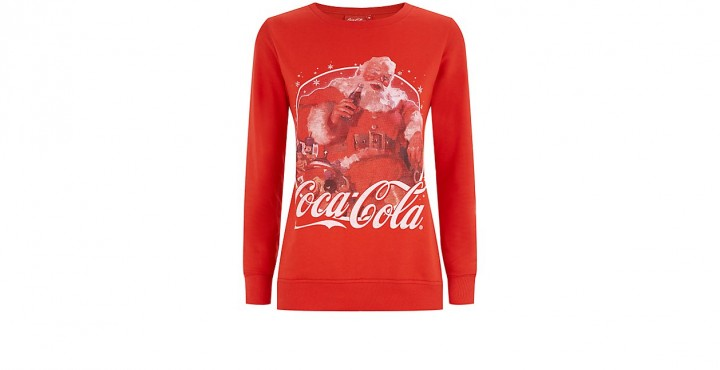 Red Coca-Cola Christmas Sweater