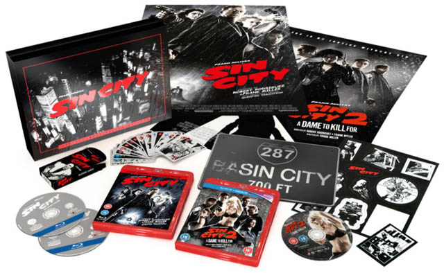 SIN CITY 2 deluxe box set