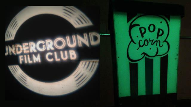 The underground film club 1