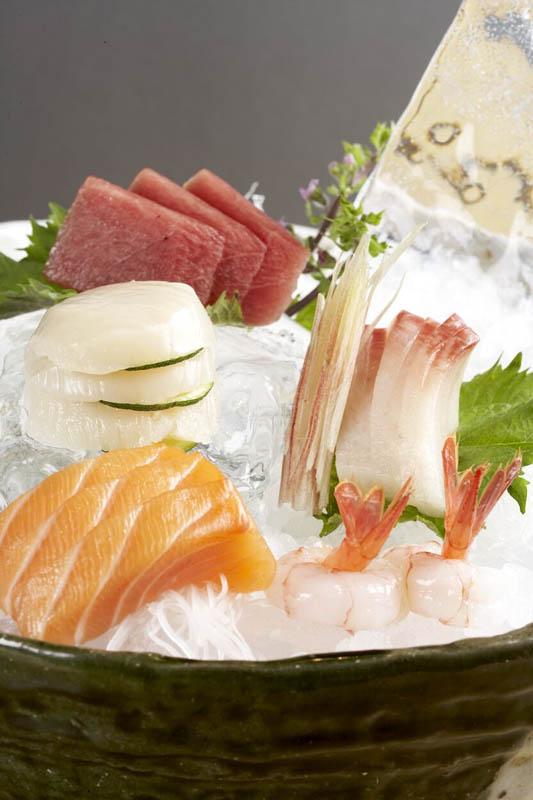 Roka Canary Wharf Sashimi Dish