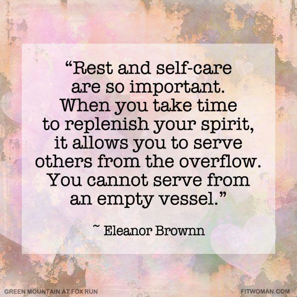 4 self care step
