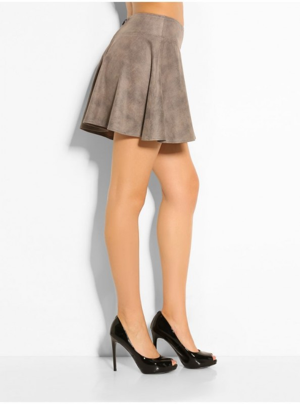 CHIO ROAD SUEDE SKIRT