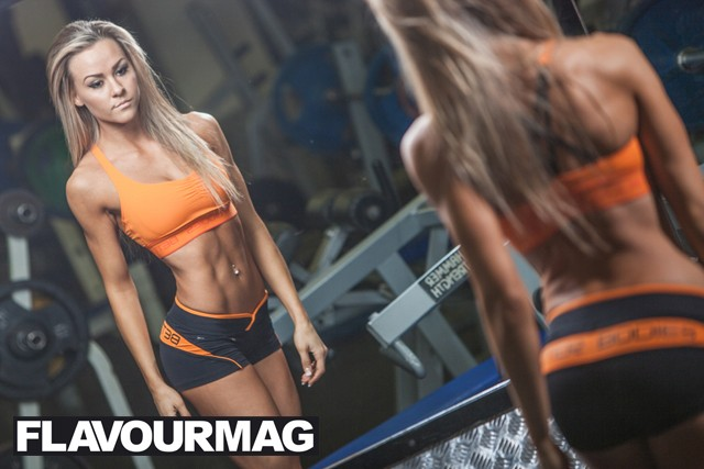 Chelsea Dyson fitness model 2