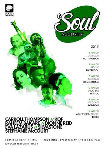 Soul Acoustic tour
