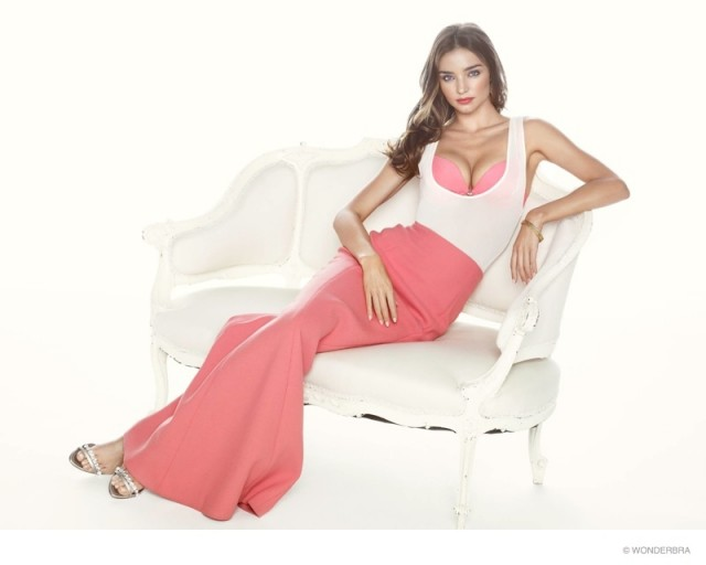 Miranda Kerr sizzles in wonderbra campaign for Valentines