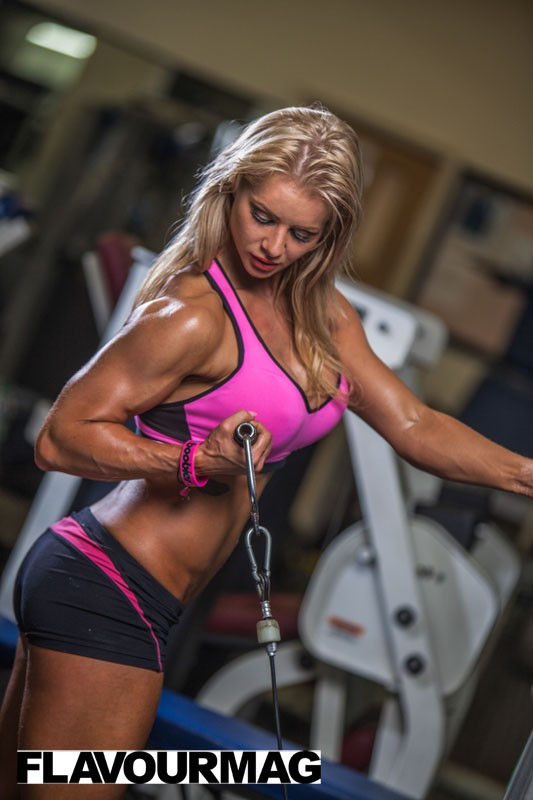 Charlayne Everhart fitness shoot Flavourmag 3