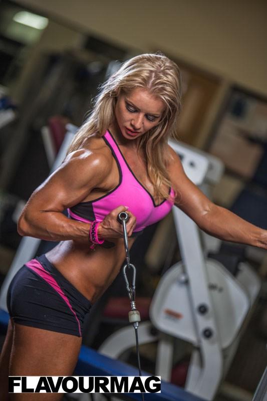 Charlayne Everhart fitness shoot Flavourmag 3