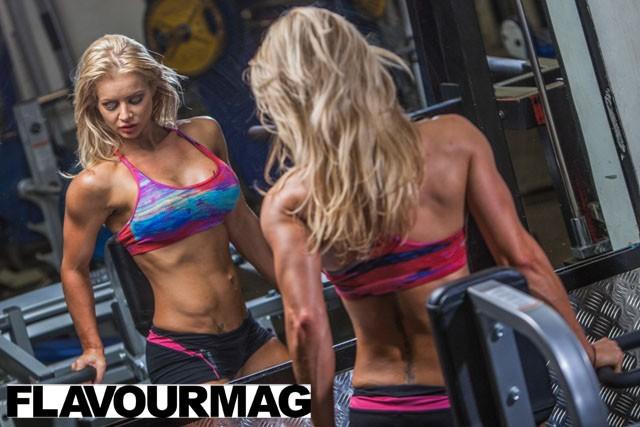 Charlayne Everhart fitness shoot Flavourmag 4