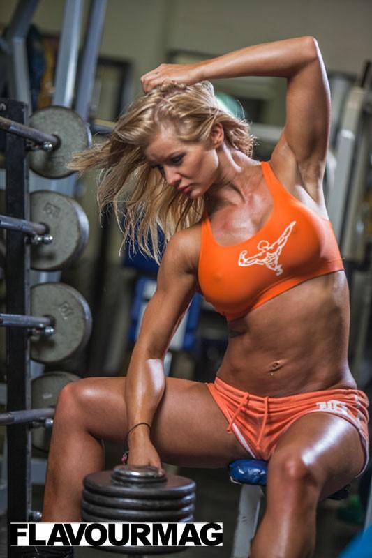 Charlayne Everhart fitness shoot Flavourmag 6