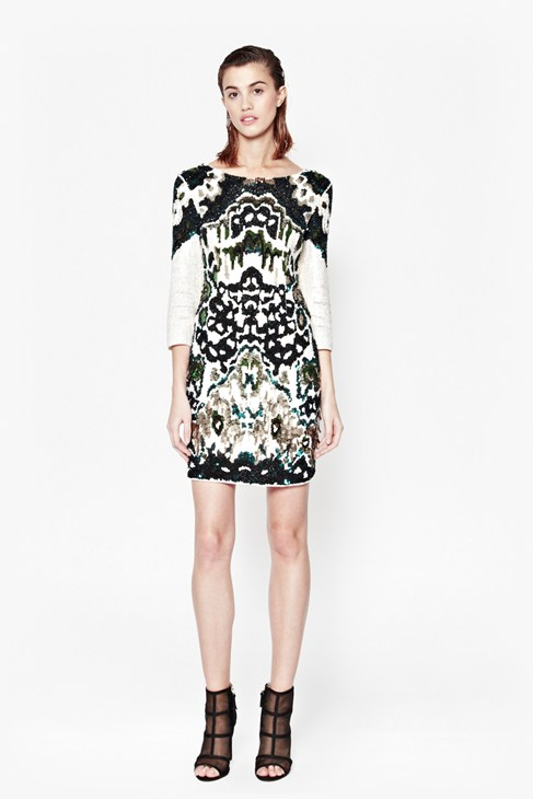 GYPSY MOTH SEQUINNED DRESS £290.00