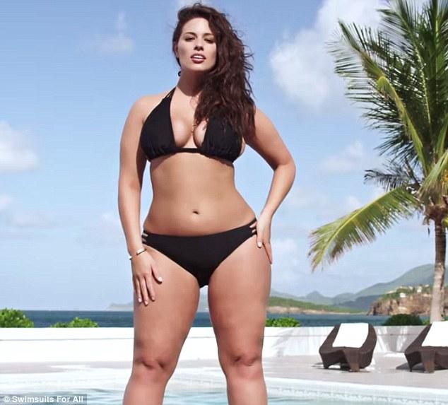 ashley graham sexy plus size model 2