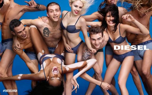 62af447a53 Diesel Gets Summer Happy For 2015 Campaign Ads