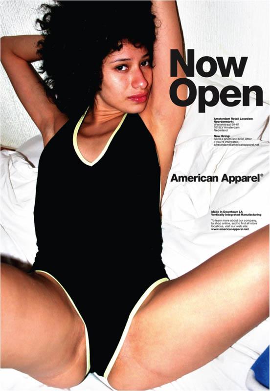 american apparel banned advert