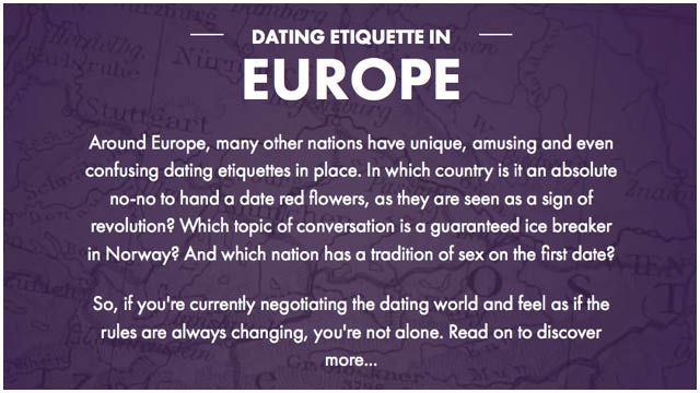 Long distance dating sites etiquette