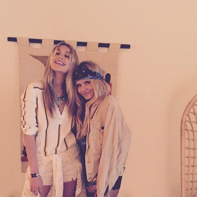 Gigi Hadid and Alli Simpson rock Coachella style