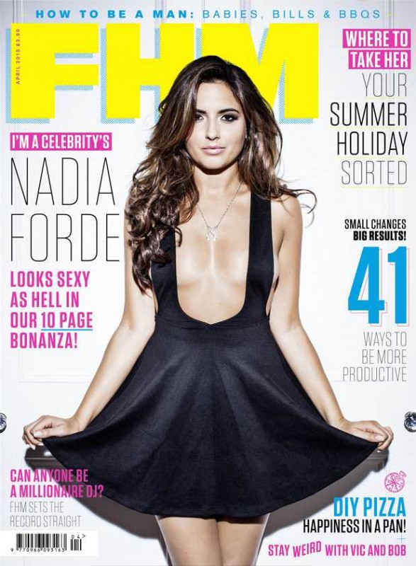 Nadia Forde FHM cover