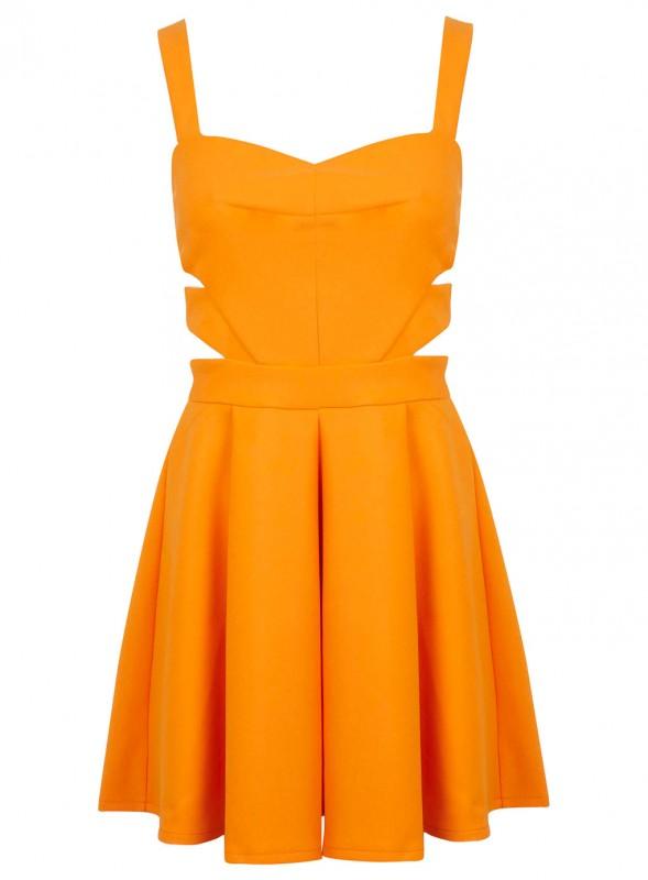 Orange Cut Out Skater Price - £45.00