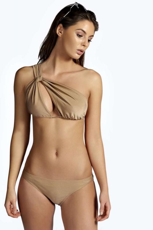 Peru Twist Cut Out Halter Glamour Bikini