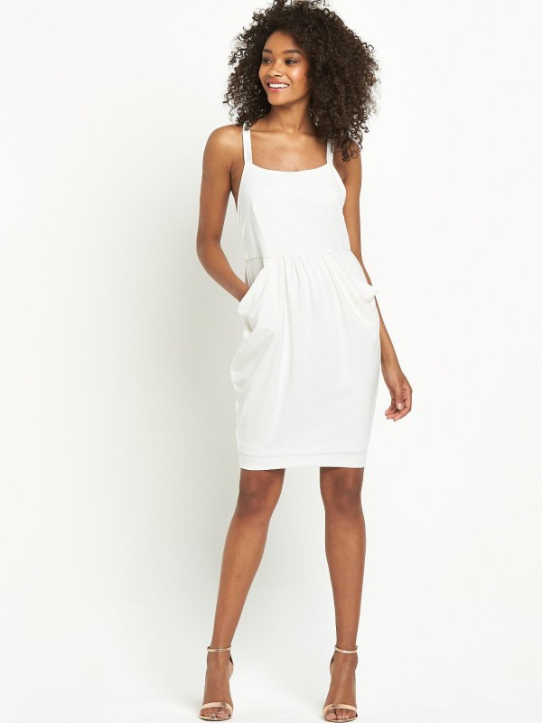 Definitions Knotted Back Dress