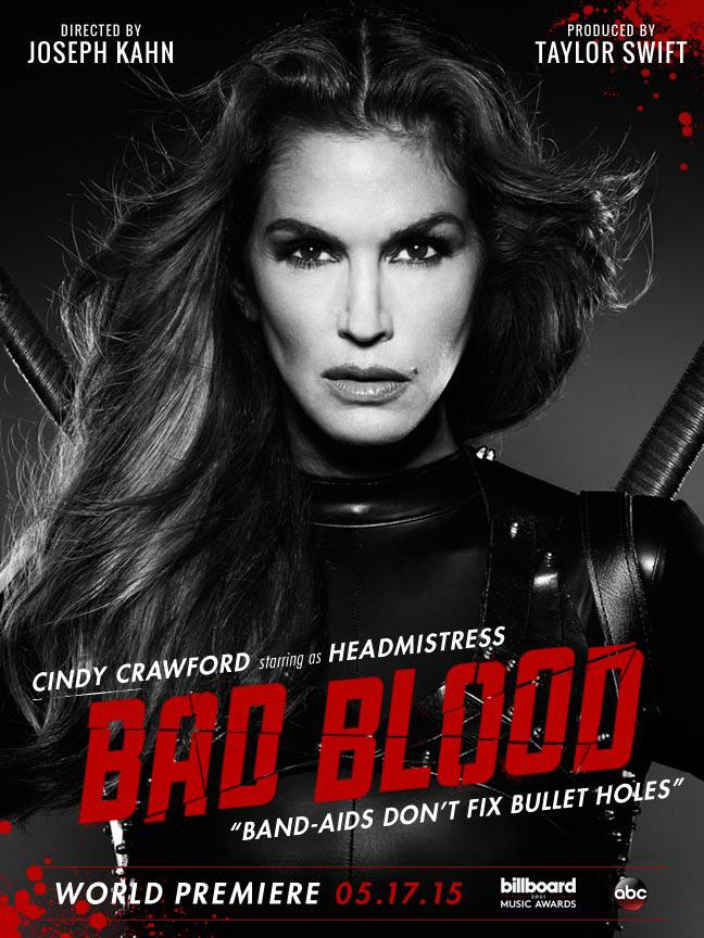 cindy-crawford-bad-blood-poster
