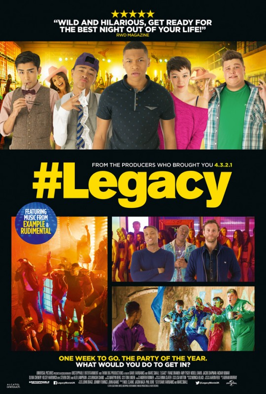 legacy movie uk poster