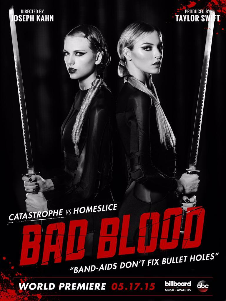 taylor-swift-martha-hunt-bad-blood-poster