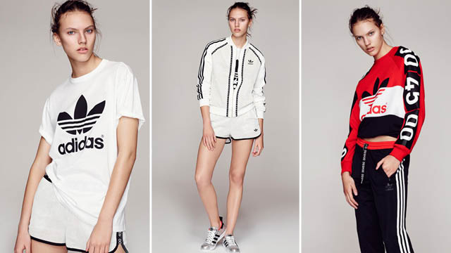 10b8fb08355 Topshop have released its capsule collection in collaboration with adidas  ...