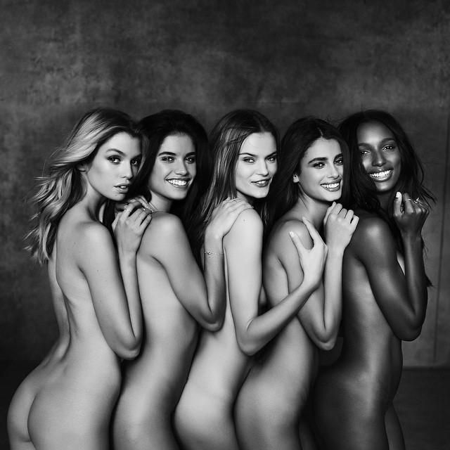 Naked Models Take The Runway Naked Runway Moments