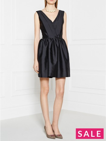 KARL LAGERFELD Milly Sleeveless Dress - Black