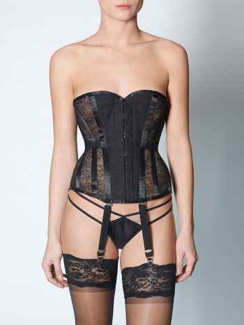 Vollers Lycra Lace Corset