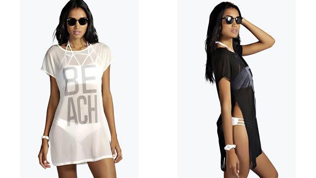 boohoo beach dress