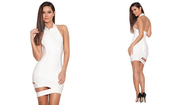 livi white house of cb bandage dress
