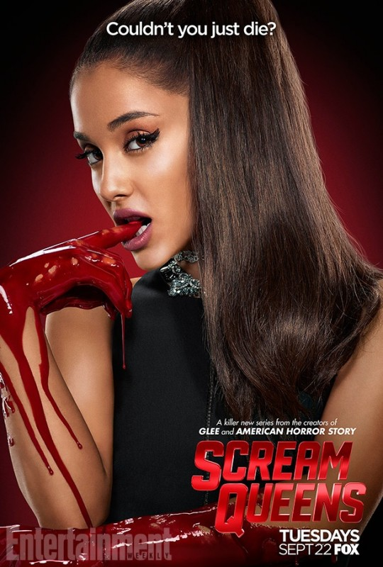 ArianaGrandeScreamQueensPoster