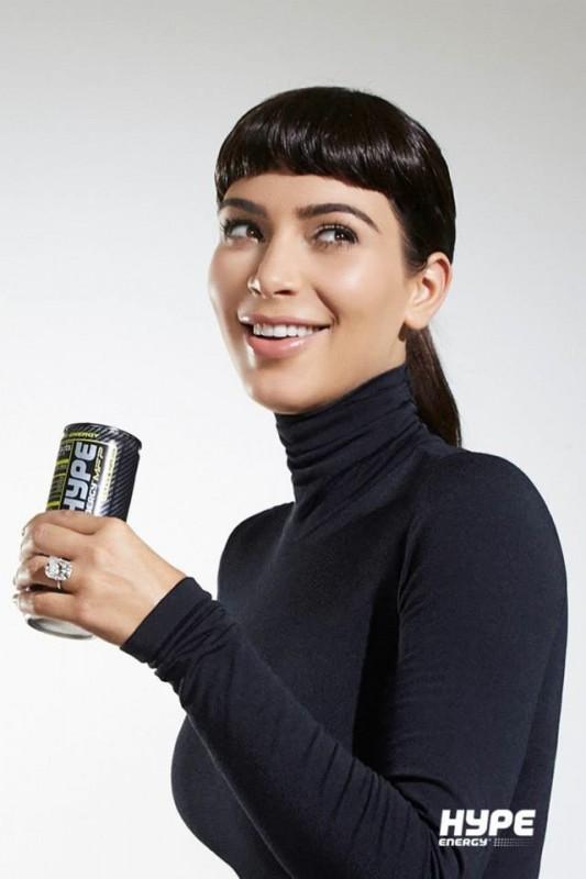 Kim-Kardashian-Bangs-Audrey-Hepburn