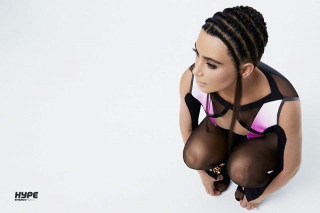 Kim-Kardashian-Braided-Hairstyle