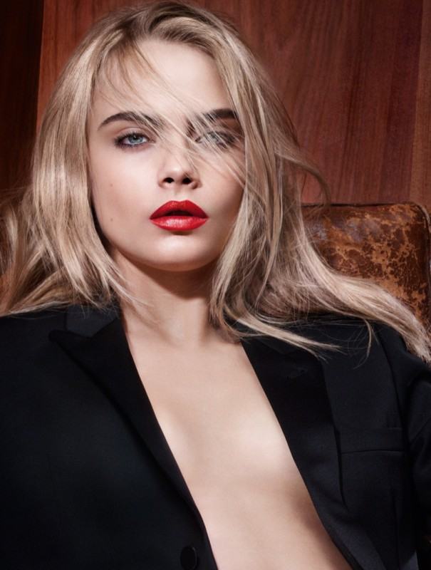 Cara-Delevingne-YSL-Beauty-Rouge-Pur-Lipstick-Ad-Campaign