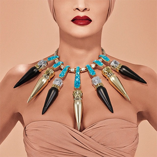Question: Would you wear the Louboutin lipstick necklace?