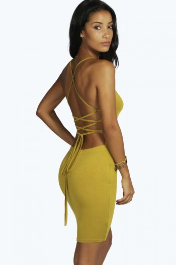 Rhiannon Strappy Back Mini Dress