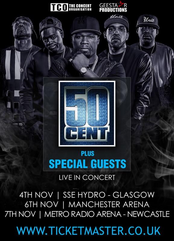 50 cent uk tour
