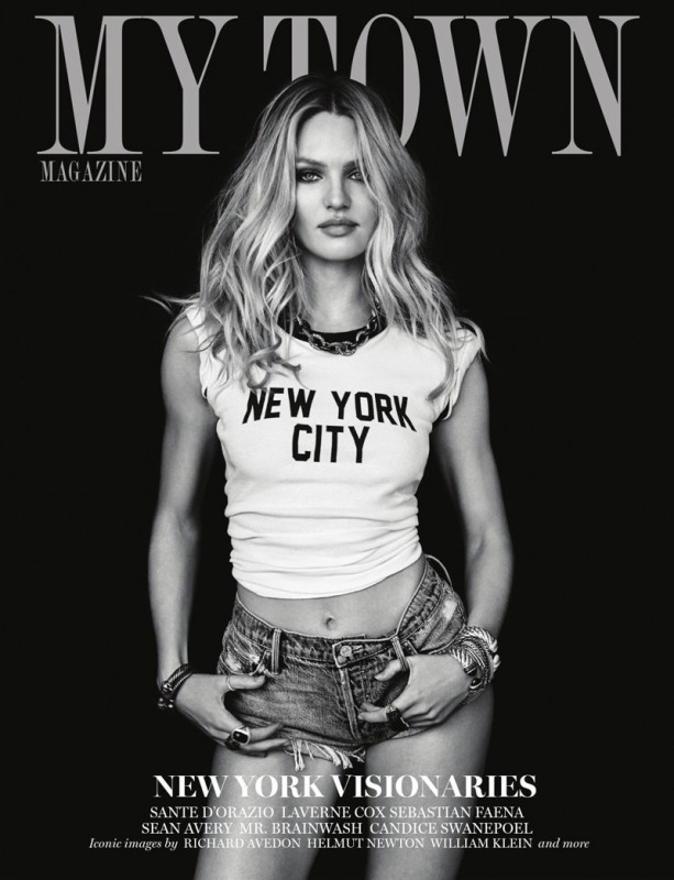 Candice Swanepoel nude my town mag 1