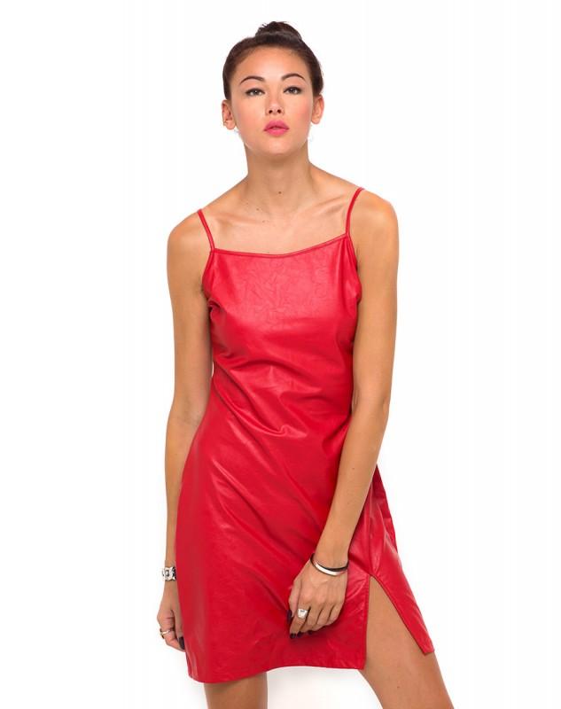 red motel rocks strappy dress