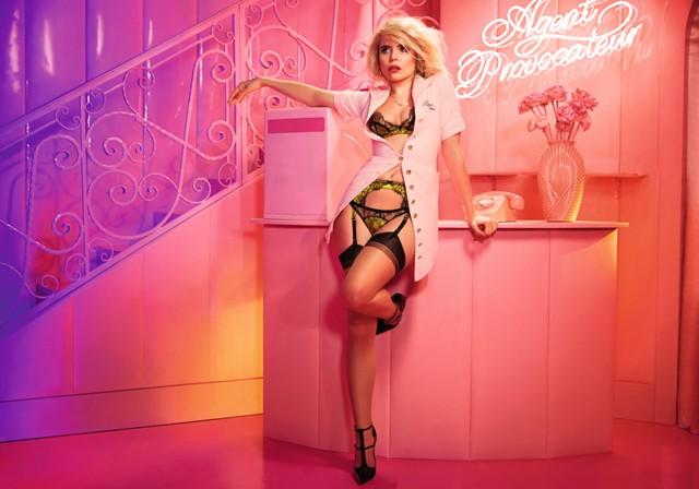 Paloma Faith lingerie campaign Agent Provocateur 1