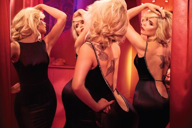 Paloma Faith lingerie campaign Agent Provocateur 5