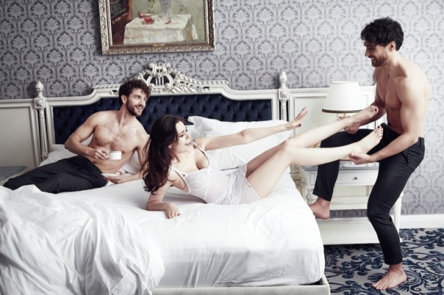 Yuliya hot threesome 1