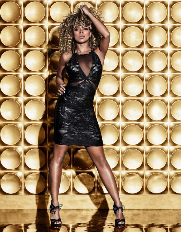 Fleur East by Lipsy mesh panel dress, in black only £58.00 Featuring sheer mesh front, criss cross slim strap design to reverse and back zip fastening