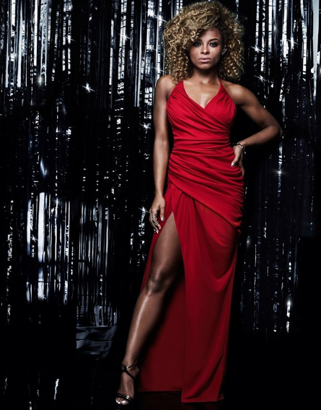 Fleur East for Lipsy maxi dress, in red only £75.00.  Featuring side leg split, strappy back and ruched detail front. Perfect for any special occasion.