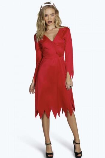 Lauren Red Hot Devil Fancy Dress